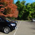 千葉県の大福山展望台の駐車場