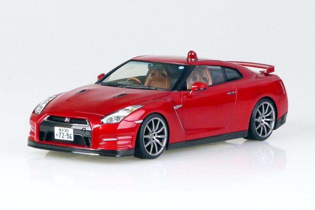 1/24 あぶない刑事 R35 GT-R