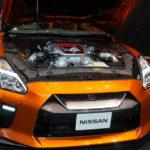 NISSAN GT-R 2017 アルティメイトシャイニーオレンジ エンジンハウス内の写真