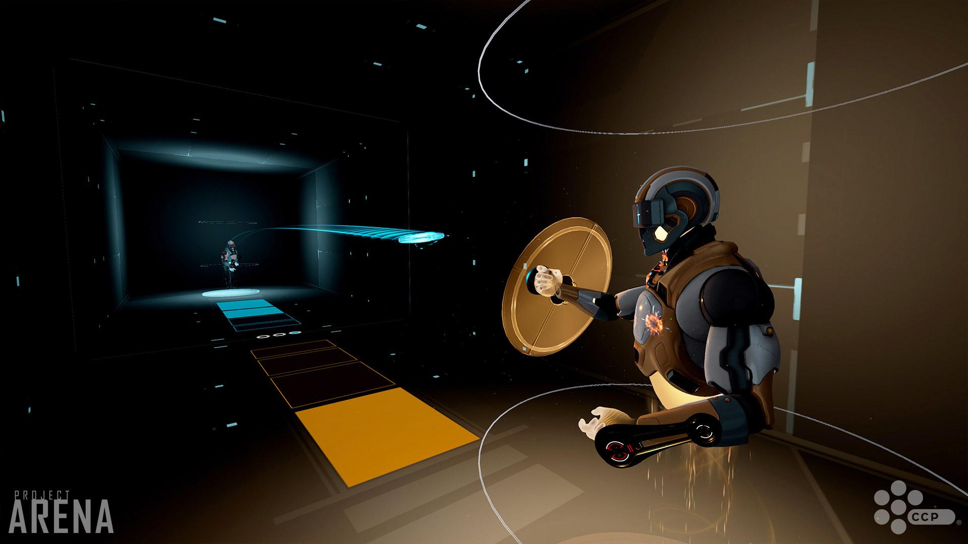 VR専用ゲーム「Project Arena」は、まるで映画TRON(トロン)の世界!