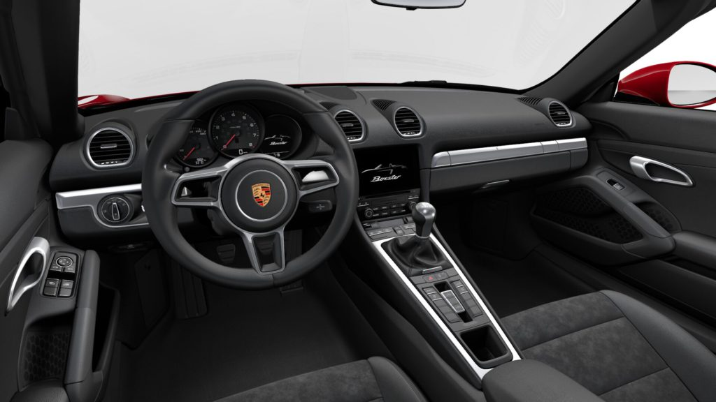 Porsche 718 Boxster インテリア
