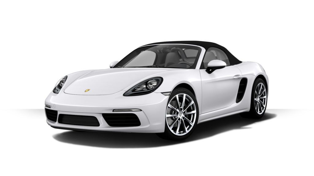 Porsche 718 Boxster キャララホワイトメタリック フロント