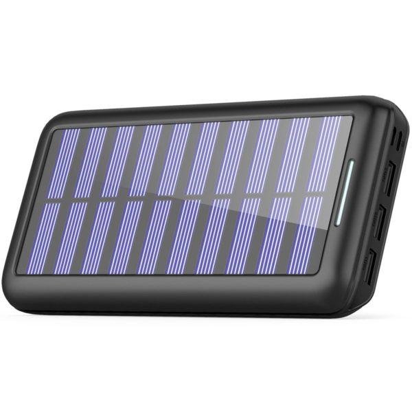 太陽光パネル付きモバイルバッテリー AkeemSolar 本体