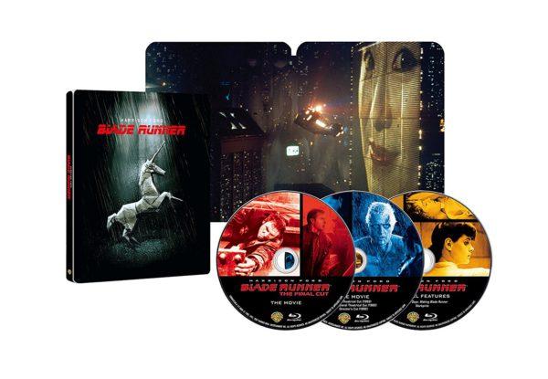 ブレードランナー ファイナル・カット 日本語吹替音声追加収録版 ブルーレイ(3枚組)スチールブック仕様(2049セット限定生産) [Blu-ray]