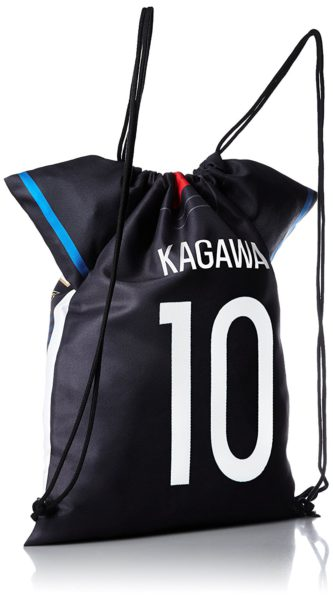 香川真司選手のユニフォーム型ナップサック