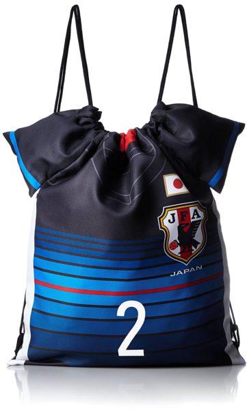 日本代表・内田篤人選手のユニフォーム型ナップサック(バッグ)